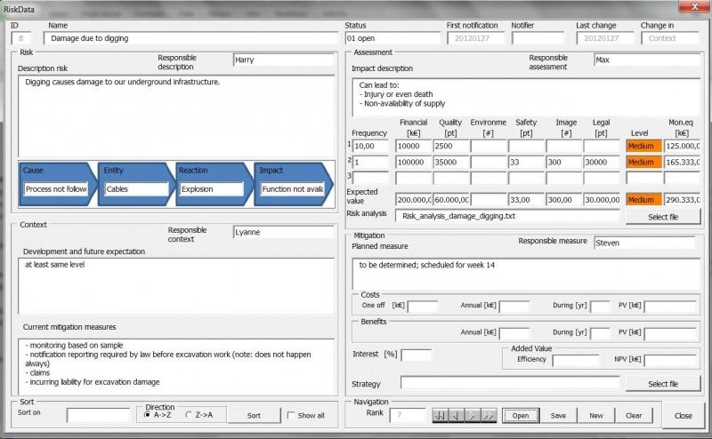 Click to view Risk Processor Light 2.1.1 screenshot